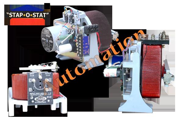 Variac System For Servo Stabilizer